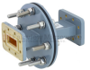 WR-112 Waveguide Bulkhead Adapter Using CPR-112G Flange and Operating from 7.05 GHz to 10 GHz -- FMWAD5017 -Image