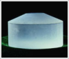 Magnesium Fluoride Crystal Material -- MgF2