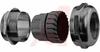 Gland, Cable; NPT; 1 in.; 36 in.; 55 mm; 33.3 mm; Brass; Neoprene; Nickel -- 70074610