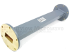 WR-137 Waveguide Section 12 Inch Length Straight Using UG-344/U Flange With a 5.85 GHz to 8.2 GHz Frequency Range in Commercial Grade -- SMF137S-12 - Image