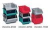 Fiberglass Plexton® Hopper Front Containers -- HSH2411-8PSM-RD -Image