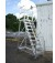 Custom Work Platform Ladder