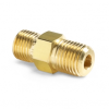 "1/8"" male NPT x male Quick-test, no check-valve, brass -- QTHA-1MB0 -- View Larger Image"