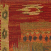 Large Ikat Tapestry w/Backing Fabric -- R7955 - Image