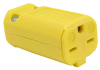 Pass & Seymour® -- MaxGrip M3 Connector, Yellow - PS5669Y
