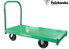 ALL STEEL PLATFORM TRUCKS -- HSD210-2448-FPN-411 - Image