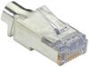 CAT6 EZ RJ45 Modular Plug Connector - Shielded, TAA, 50-Pack -- C6EZSP-50PAK -- View Larger Image