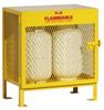 Steel Cylinder Storage Cabinet -- CAB354