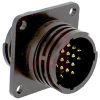 Connector, CPC; 16; Receptacle; Feed-Thru; 17; All Plastic; 15/16-20 UNEF-2A -- 70082673