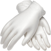 PIP Cleanteam 100-2824 Clear Large Vinyl Disposable Cleanroom Gloves - Class 10 Rating - 9.4 in Length - 616314-02205 -- 616314-02205