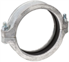 Style W89 AGS Rigid Coupling with Ring for Large Diameter Stainless Steel Piping