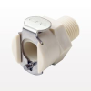 PMC12 Series Coupling Body, Shutoff Polypropylene In-Line Pipe Thread -- PMCD100412 -Image