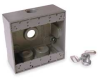 Two Gang Outlet Box -- 3KF88