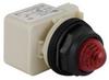 Pilot Light,LED,120V,30mm,Plastic,RD -- 5KAU6