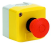 EMERGENCY STOP PUSHBUTTON, SPST-NC -- 80C6338