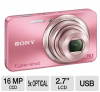 Sony W570 DSCW570 Cyber-shot Digital Camera - 16.1 Exact Meg -- DSCW570/P