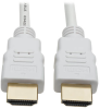 High-Speed HDMI 4K Cable with Digital Video and Audio, Ultra HD 4K x 2K @ 30 Hz (M/M), White, 16 ft. -- P568-016-WH -- View Larger Image