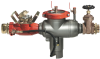 Portable Hydrant Meter Backflow Preventers with Meter -- 994HMB