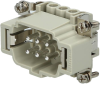 Connector insert ILME CNEM-06T - Image