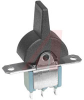 Switch, Miniature PADDLE, SPDT, ON-OFF-ON -- 70152394 - Image
