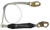 Shock-Absorbing Lanyard,Single Leg,6ft -- 19F353