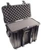 Pelican 1440 Top Loader Case with Foam - Black | SPECIAL PRICE IN CART -- PEL-1440-000-110 - Image
