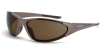 Core polarized HD brown lens, mocha brown frame -- 181813