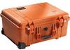 Pelican 1560 Case - No Foam - Orange   SPECIAL PRICE IN CART -- PEL-1560-001-150 -Image