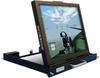 Rugged, Daylight and Sunlight Readable, 1U Rack Mount, Flip-up or Flip-down, Flat Panel LCD Monitor -- SlimLine Micro Solar™ - Image