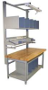 Bench In A Box,Gray,72Lx30Wx30H In. -- BIB10