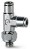 Brass Push-in Fittings - BSP/Metric Size -- 6442 3-M3 - Image