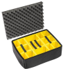 Pelican 1565 Yellow Padded Divider Set for the 1560 Case -- PEL-015600-4050-000 -Image