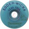 Desoldering Braid, Size #4, Lead Free, 5 Ft -- 70206046