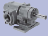 Heavy Duty S Series Rotary Gear Pump -- Model 8