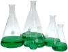 Erlenmeyer Flask,500ml,Graduations (100-500ml) each -- GW-12