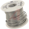 Braid, Flat; 3/16 in. W; 25 A (Bare cable); Tinned Copper -- 70140423