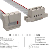Rectangular Cable Assemblies -- M3BGK-1018J-ND -Image