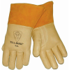 Tillman Yellow/Orange XL Grain Pigskin Kevlar/Leather Welding Glove - Straight Thumb - 608134-00424 -- 608134-00424