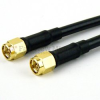 SMA Male to SMA Male Cable RG-58 Coax in 6 Inch -- FMC0202058-06 -Image