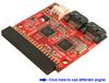 IDE-to-Dual SATA II Device Adapter -- ASA221