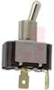 Switch, AC Rated, Toggle, SINGLE POLE, ON-OFF, .250 SPADE, 15A@125V; 10A@250V -- 70155725 - Image