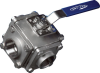Direct Mount Multiport Industrial Ball Valve -- EA-36-10