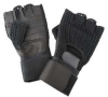 Anti-Vibration Gloves,Black,XL,Half -- 3NJU1