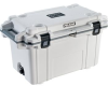 Pelican 70 Qt Elite Cooler - White with Gray Trim   SPECIAL PRICE IN CART -- PEL-70Q-1-WHTGRY -- View Larger Image