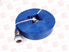 GRAINGER 45DT92 ( WATER DISCHARGE HOSE, 50FT, BLUE, 1-1/2INCH FITTING SIZE, 80PSI ) -- View Larger Image