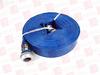 GRAINGER 45DT92 ( WATER DISCHARGE HOSE, 50FT, BLUE, 1-1/2INCH FITTING SIZE, 80PSI ) -Image