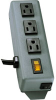 Waber-by-Tripp Lite 3-outlet Power Strip with 6-ft. Cord -- 3SP-Image
