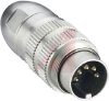 connector,circular din,male locking plug,8 contact,ip68 watertight -- 70151288