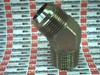 HYDRAULIC ELBOW 45DEG 1-1/4X1-1/4IN-11 37DEG FLARE -- 20VTXS - Image