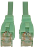 Augmented Cat6 (Cat6a) Snagless 10G Certified Patch Cable, (RJ45 M/M) - Aqua, 5-ft. -- N261-005-AQ - Image